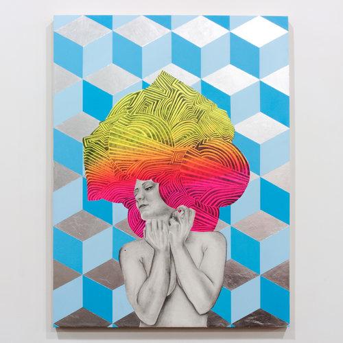 Artist Lela Brunet