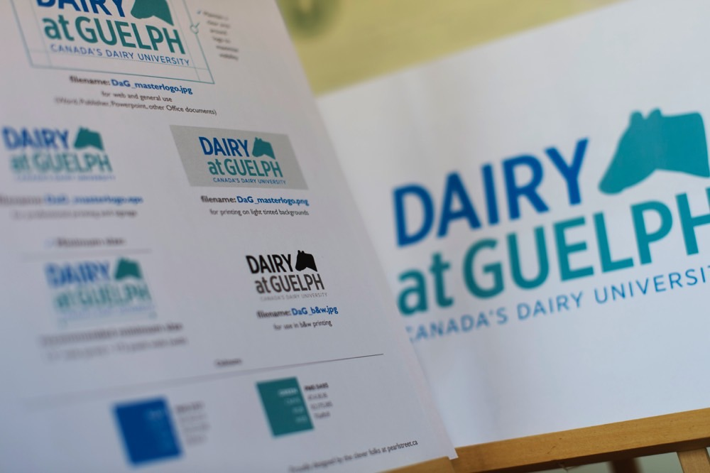 Dairy At Guelph: Branding That Unites