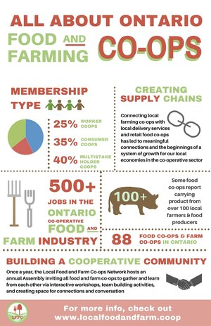 marketing templates infographics local food and farm co ops