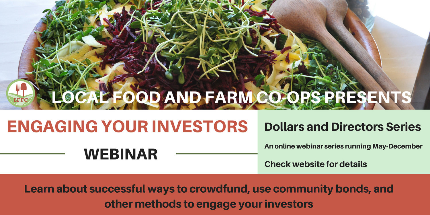 New Events — Local Food and Farm Co-ops