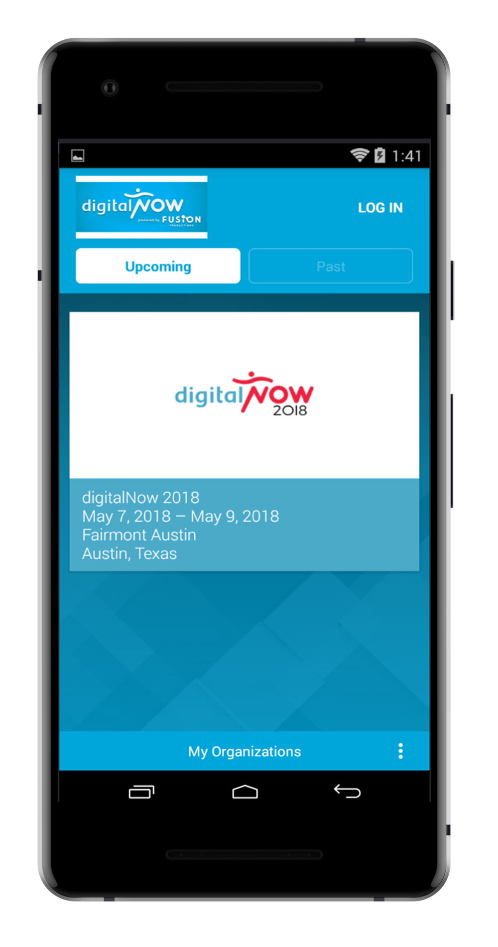 step 2. - SELECT THE DIGITALNOW 2018 EVENT.
