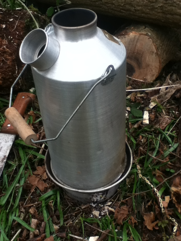 Storm Kettle or Kelly Kettle