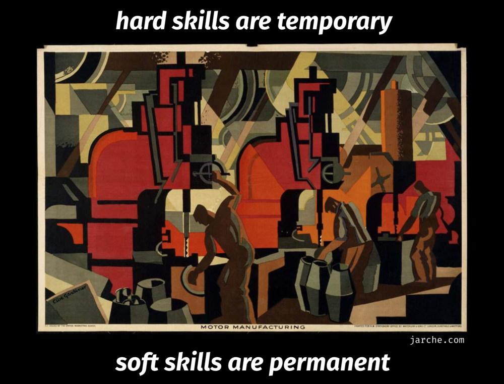 soft skills are permanent skills  - Soft skills are permanent ones. In a recent New York Times article the company LinkedIn had identified a number of currently in-demand skills. Learn More