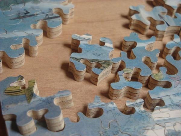 Jigsaw Puzzle by Charles W. Hamm via Wikimedia Commons 800px.JPG