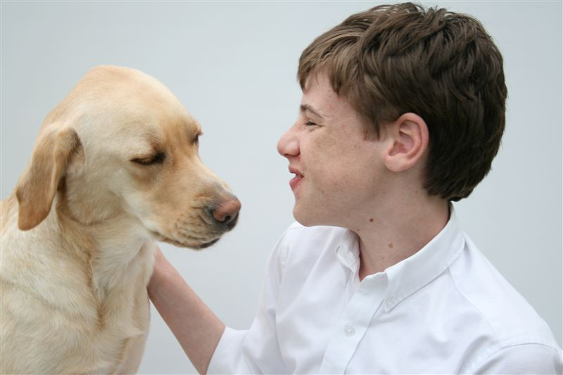 WILLIAM CORRY AND WHITLEY, CANINE COMPANIONS  PHOTOGRAPHY, SET, STYLING BY ALEXIS CORRY
