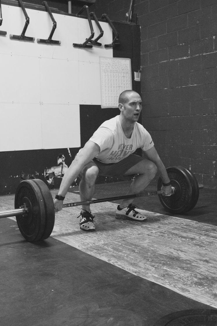Coach  - Chad Hall  CrossFit Level 1 Trainer  CrossFit Weightlifting Certification