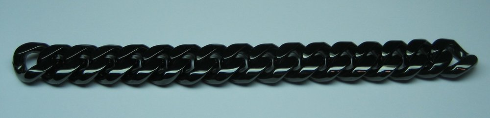 Black Ceramic Curb Bracelet.jpg