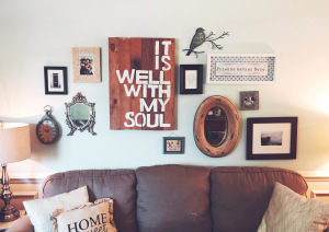 Gallery Wall by The Carolina Farmhouse
