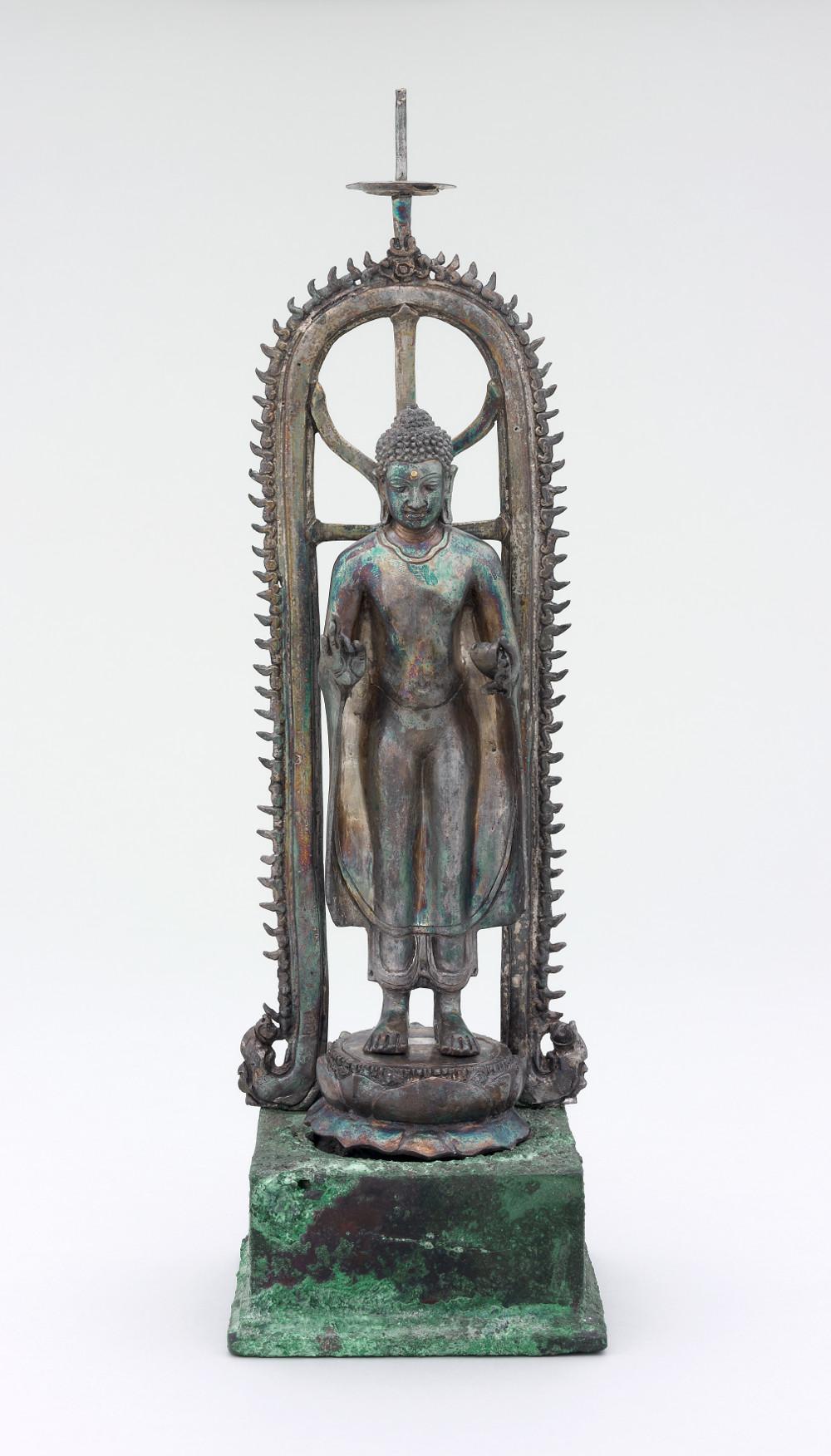 Standing Buddha - SilverAD 700–900Sambas, IndonesiaBritish Museum