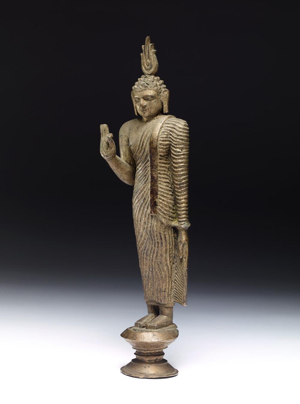 Buddha - BronzeAD 1800–1900Sri LankaBritish Museum