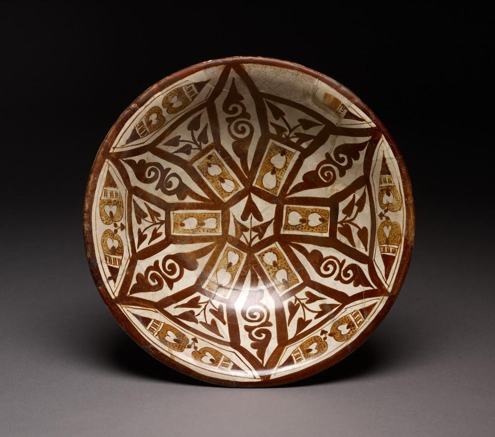Lusterware bowl - PotteryAD 800–900Basra, IraqBritish Museum