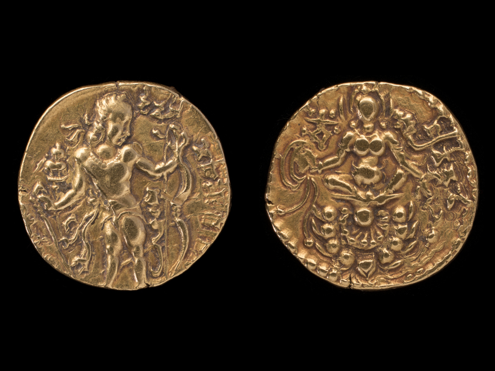 Gupta dinar of Chandragupta II - GoldAD 385–414Central IndiaCSMVS