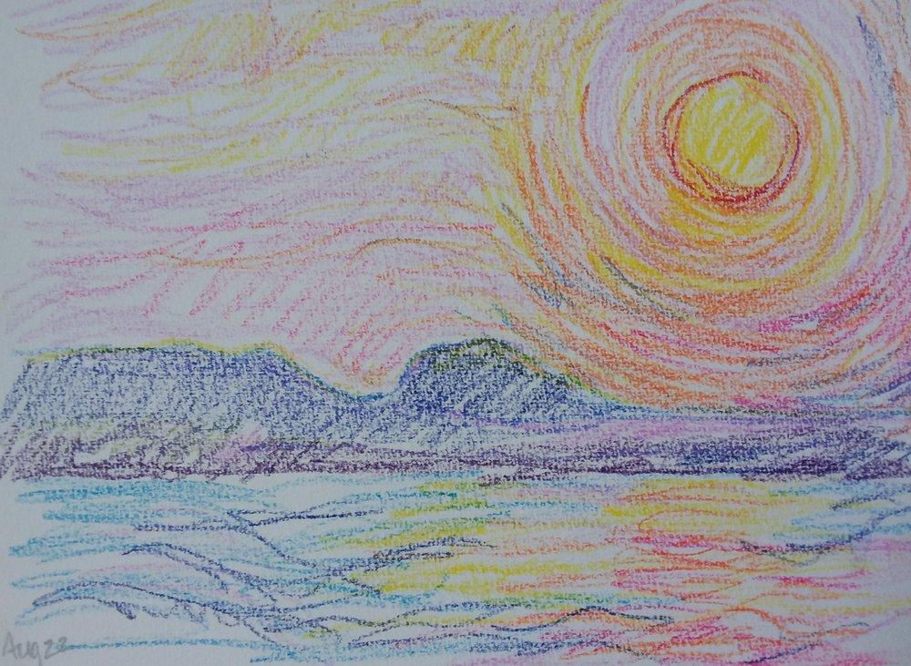 Speed sketch | Kaija Savinainen Mountain
