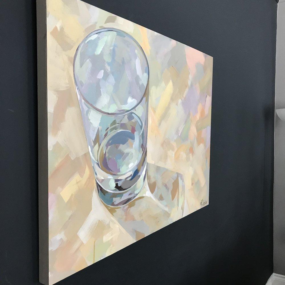 40 x 30, Glass, Rosemary Leach