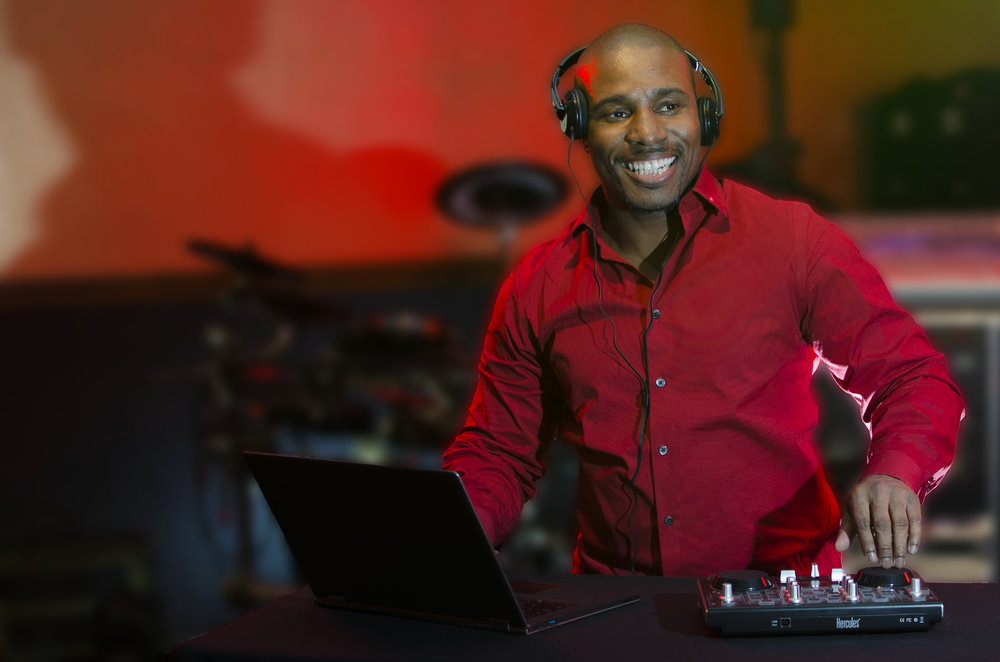 "DJ Mel B - DJ Mel B has extensive experience with weddings, corporate events and more. Some of his clients have included Macy's, Hyatt Place Hotels and JCPenny just to name a few. With his positive energy and attention to the clients' details and requests, he creates an unique and memorable event each and every time. DJ Mel B's career began as a self-taught musician. His love for music easily translated into a successful career as a DJ. Currently as a veteran in the industry, his highly motivating personality and inspiring voice will capture the hearts of both the young and the ""young at heart""…in venues large, small and in between."