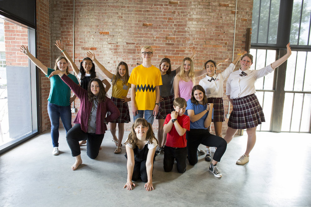 "Musical Theater Expedition: Cast of ""You're A Good Man, Charlie Brown."""