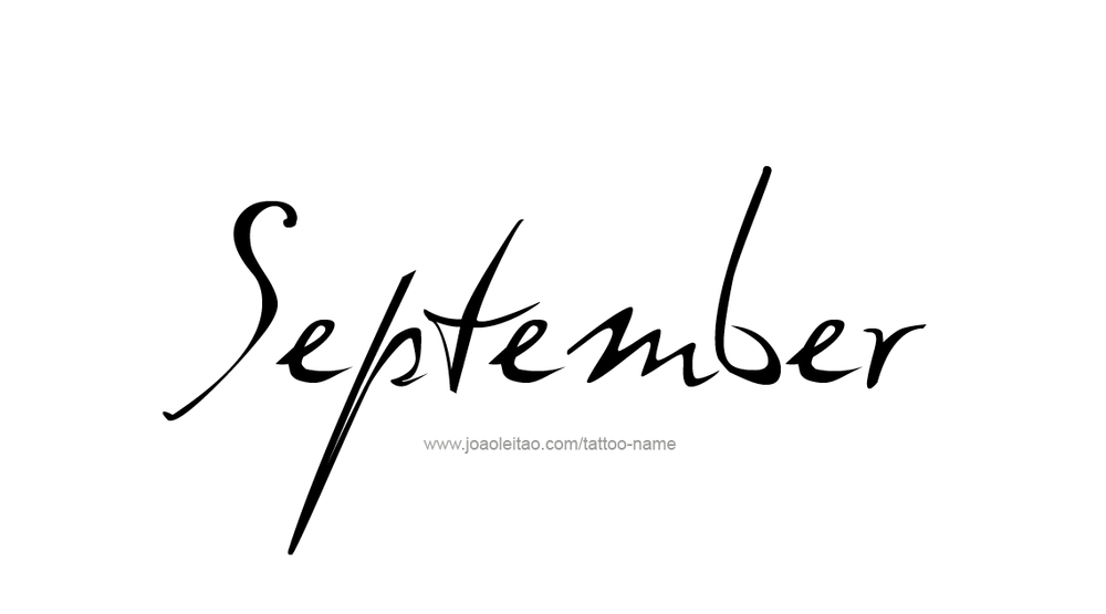 tattoo-design-months-name-september-01.png
