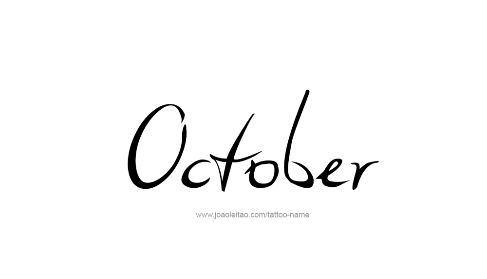 tattoo-design-months-name-october-01.png