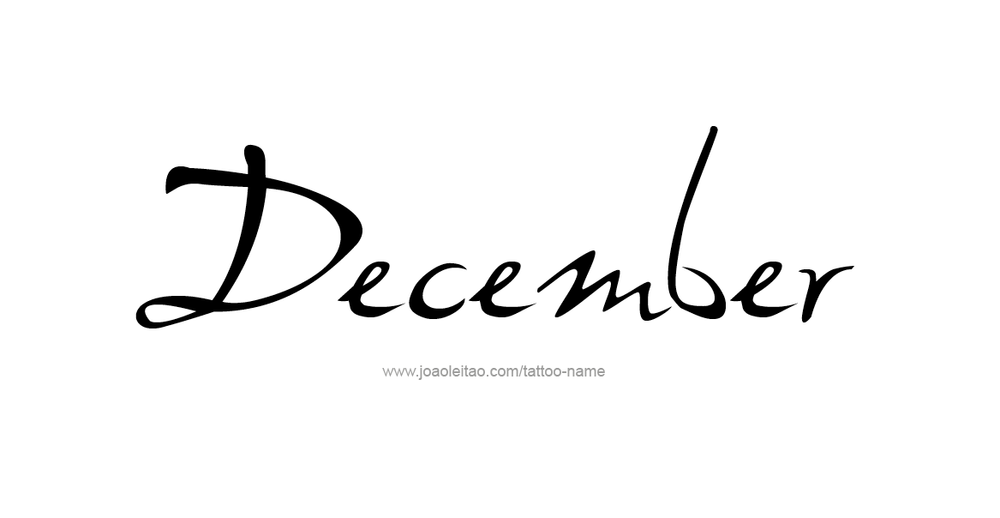 tattoo-design-months-name-december-01.png