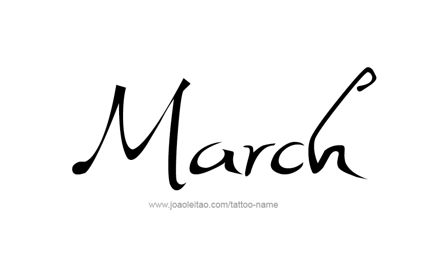 tattoo-design-months-name-march-01.png