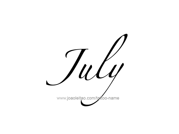 tattoo-design-months-name-july-15.png
