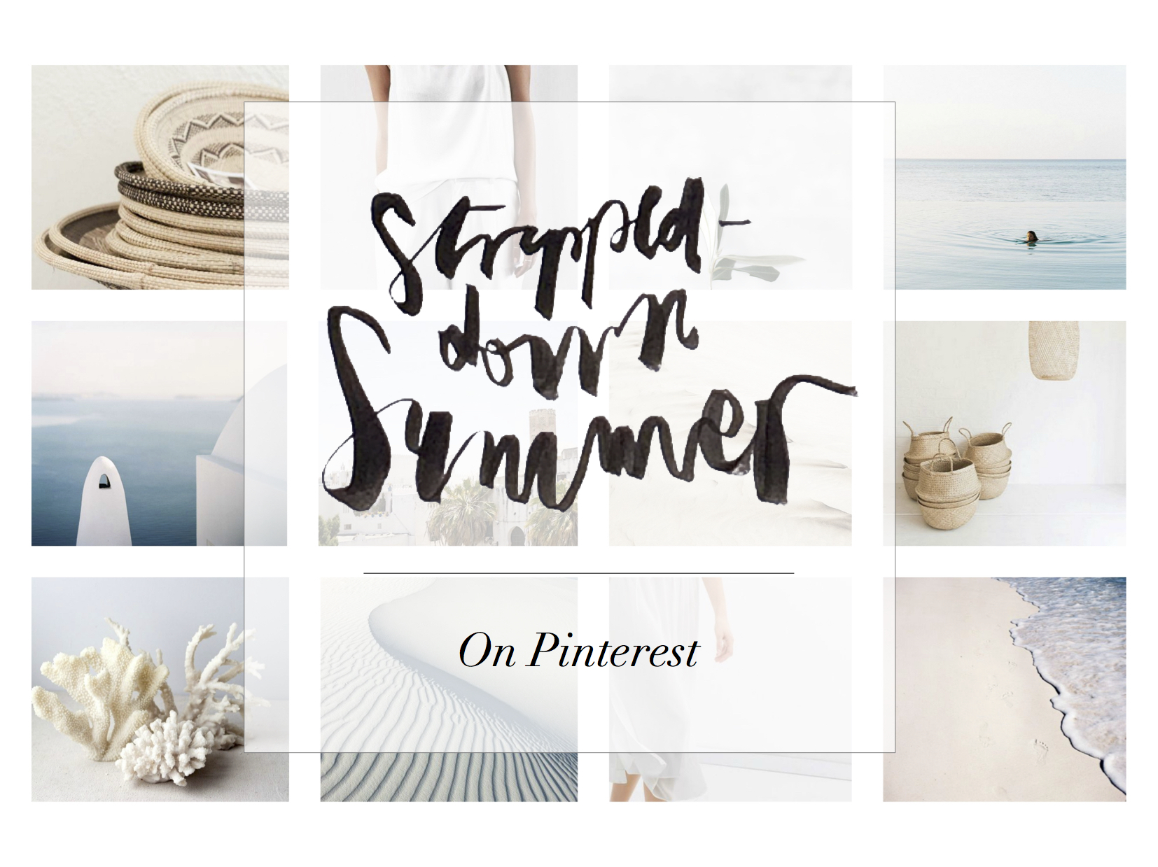 Summer Mood #1 | Stripped-down Summer | Inesness