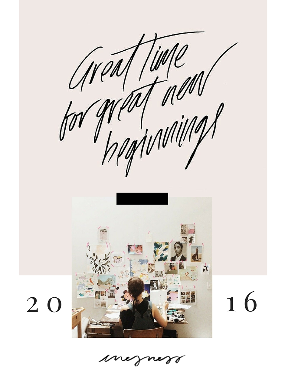 NEW YEAR'S RESOLUTIONS | inesness