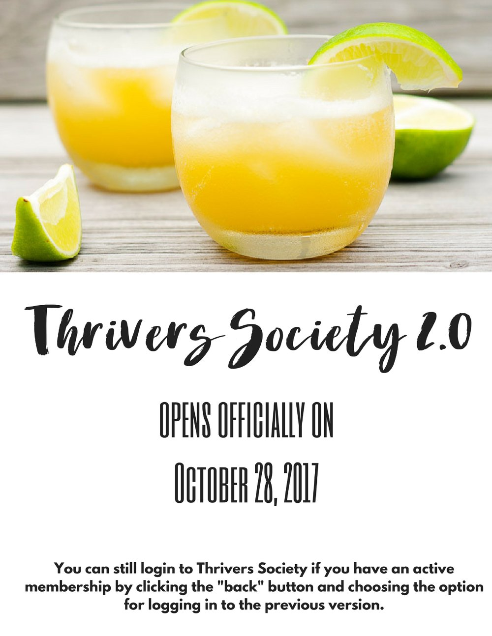 Thrivers Society 2.0 opens officially on October 28, 2017.jpg