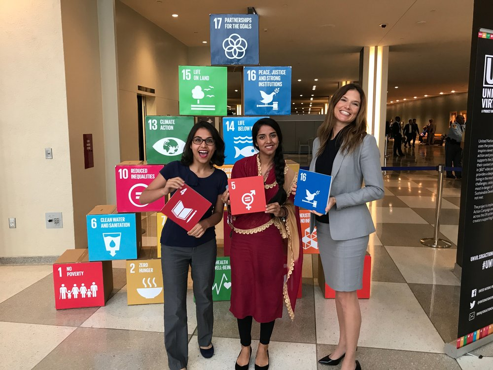 Let's achieve the sustainable development goals!