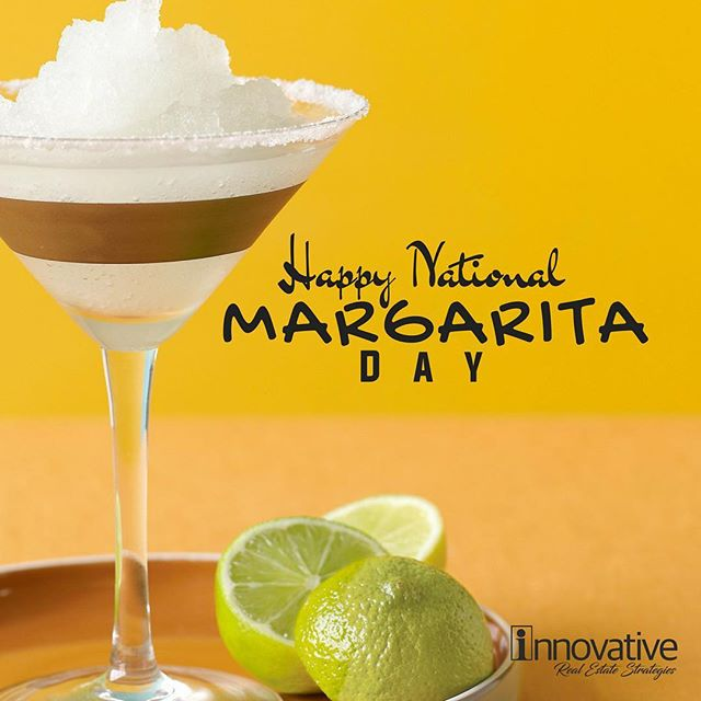 It's almost Friday! Today is the perfect day to celebrate with margaritas. Wishing everyone a Happy National Margarita Day!