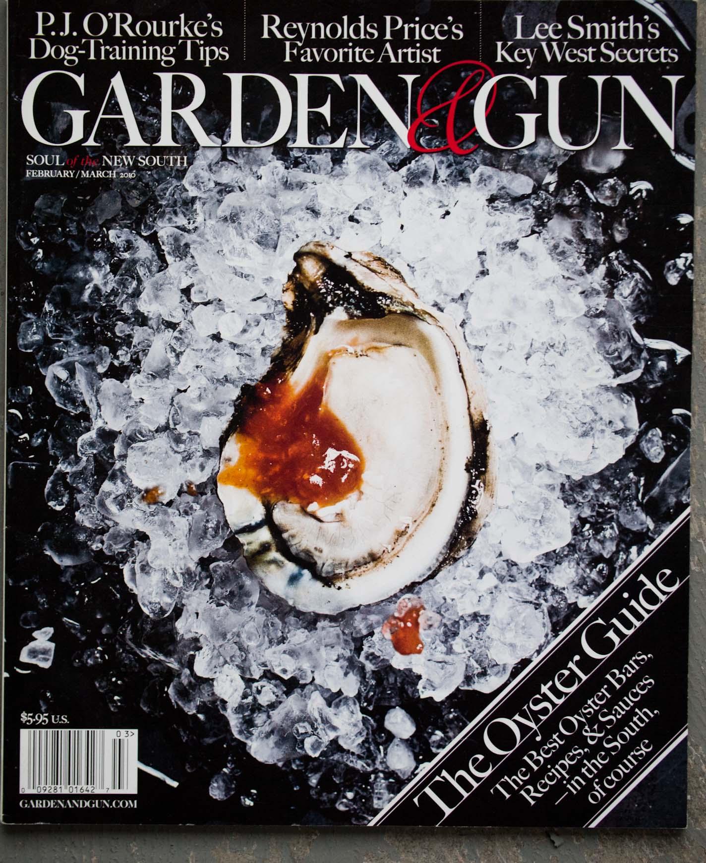 garden and gun magazine. Peter Frank Edwards G\u0026G Cover Garden And Gun Magazine A