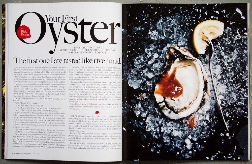 James Beard Award-winning Oyster story by Peter Frank Edwards