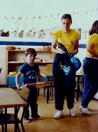 Sean as a Brazilian student
