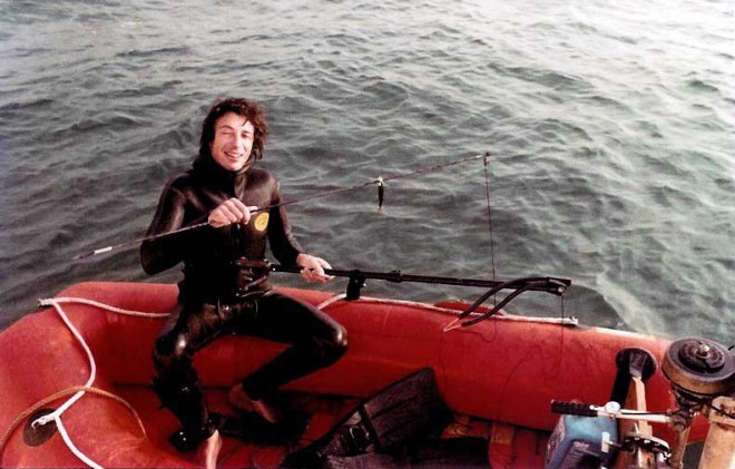 Meager fishing in the N'Gor lagoon