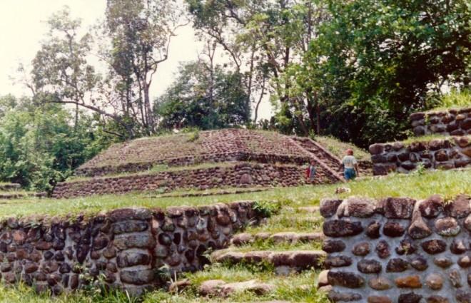 Mayan ruins near Tapachula, Mexico