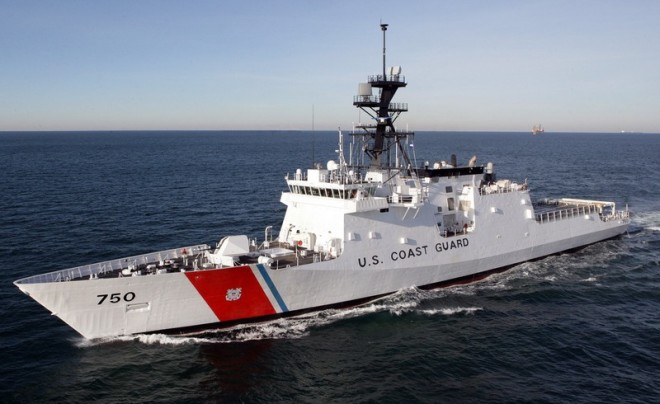 Example of a Coast Guard vessel that hailed us off the Cuban Coast. (Photo copyright File Photo U.S. Government, public domain)