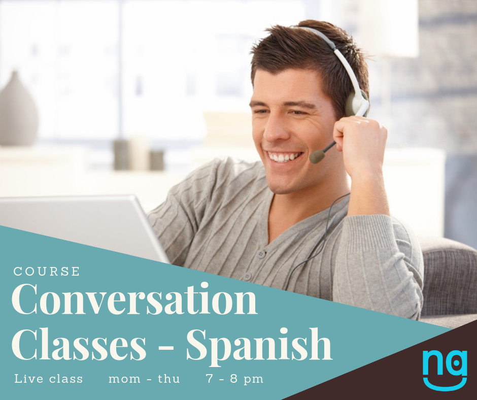 Conversation Classes Spanish -