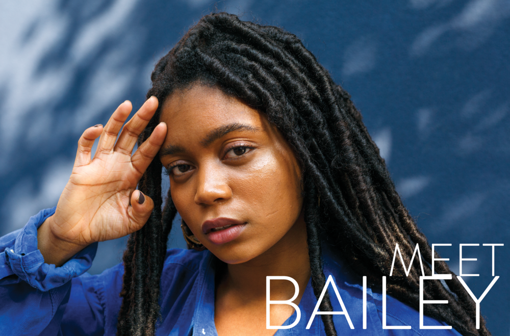 Yam Mama - A photo essay visually interviewing Bailey, a young Brazilian-African American studying to be an art educator.