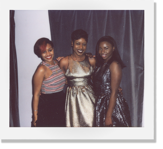 2015 |  We always love a good party! Whether it's our annual holiday or anniversary party we love to dress up and celebrate with all our wonderful customers! Here are three of our favorite former staff members shining bright at our last holiday party in Adams Morgan!