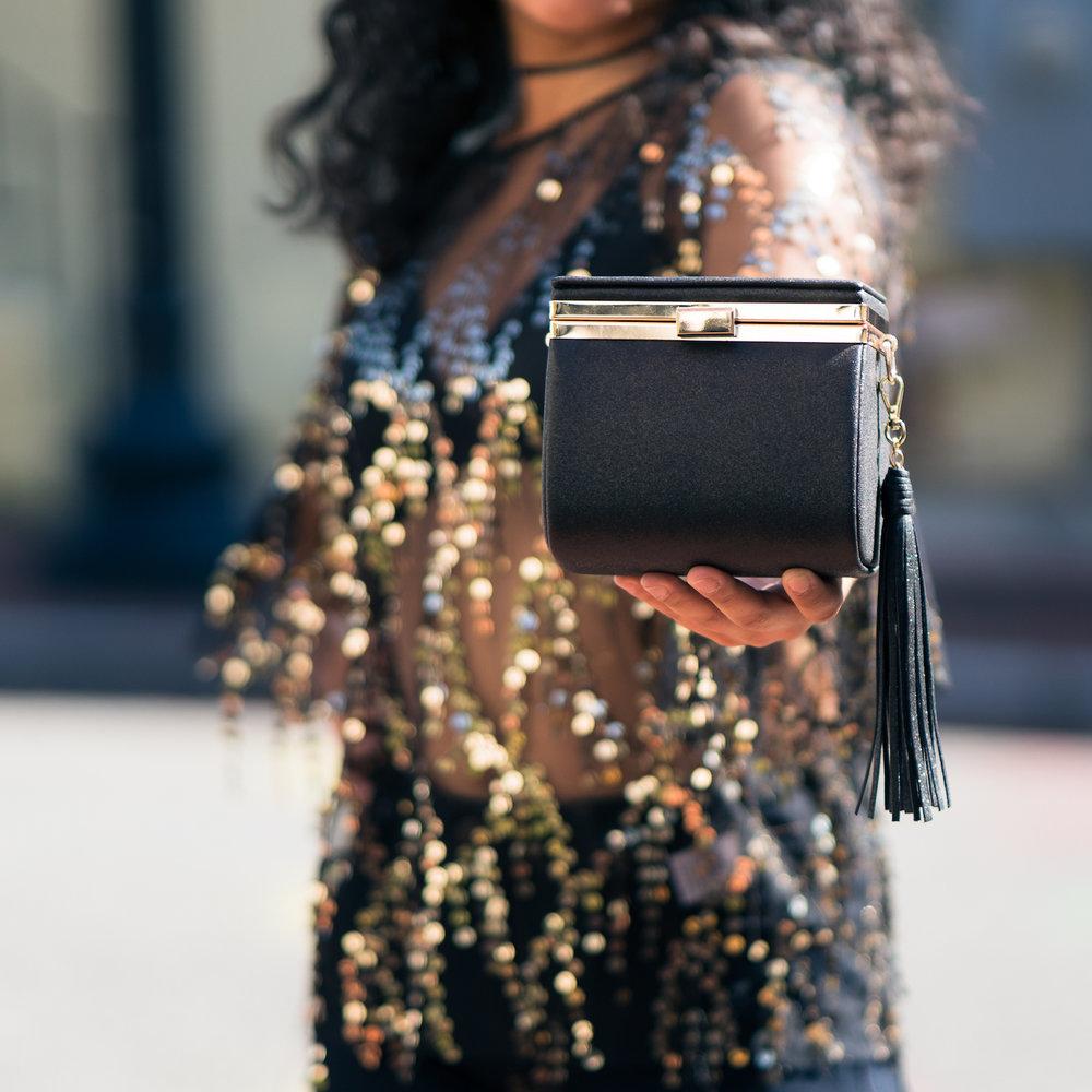 Micro-bag, Violet Boutique