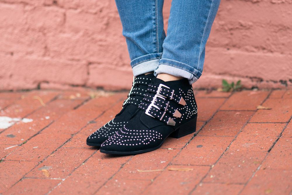 Studded loafers, Violet Boutique
