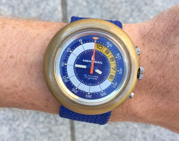 Memosail on the Wrist