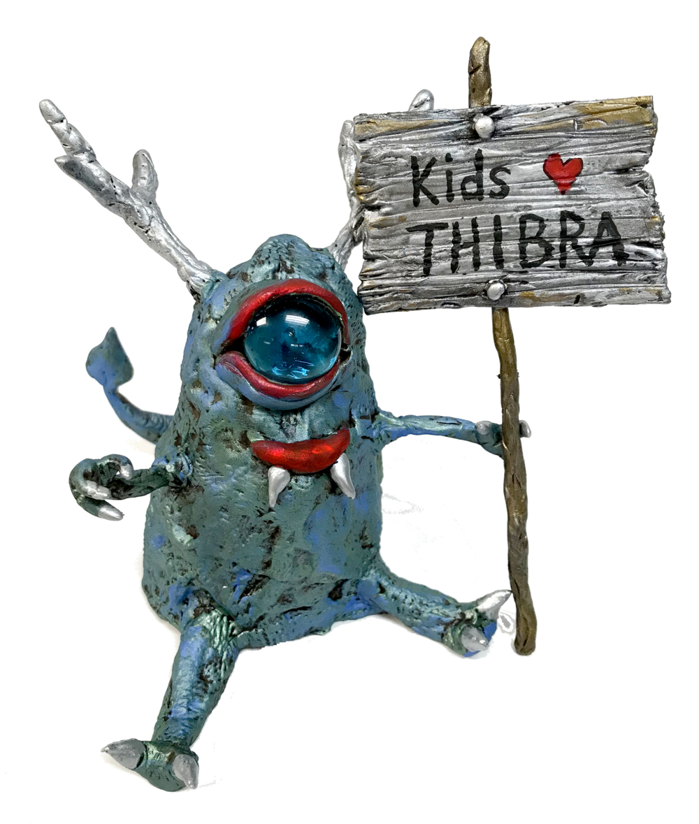 Kids Love Thibra - Kids love quickly making their ideas come to life with Thibra. Teachers love that no scrap is wasted (watch this) and mistakes can be reheated, no kiln needed. Heat with a heat gun or hot water, at 120º Thibra softens into a smooth plastic putty-like material.