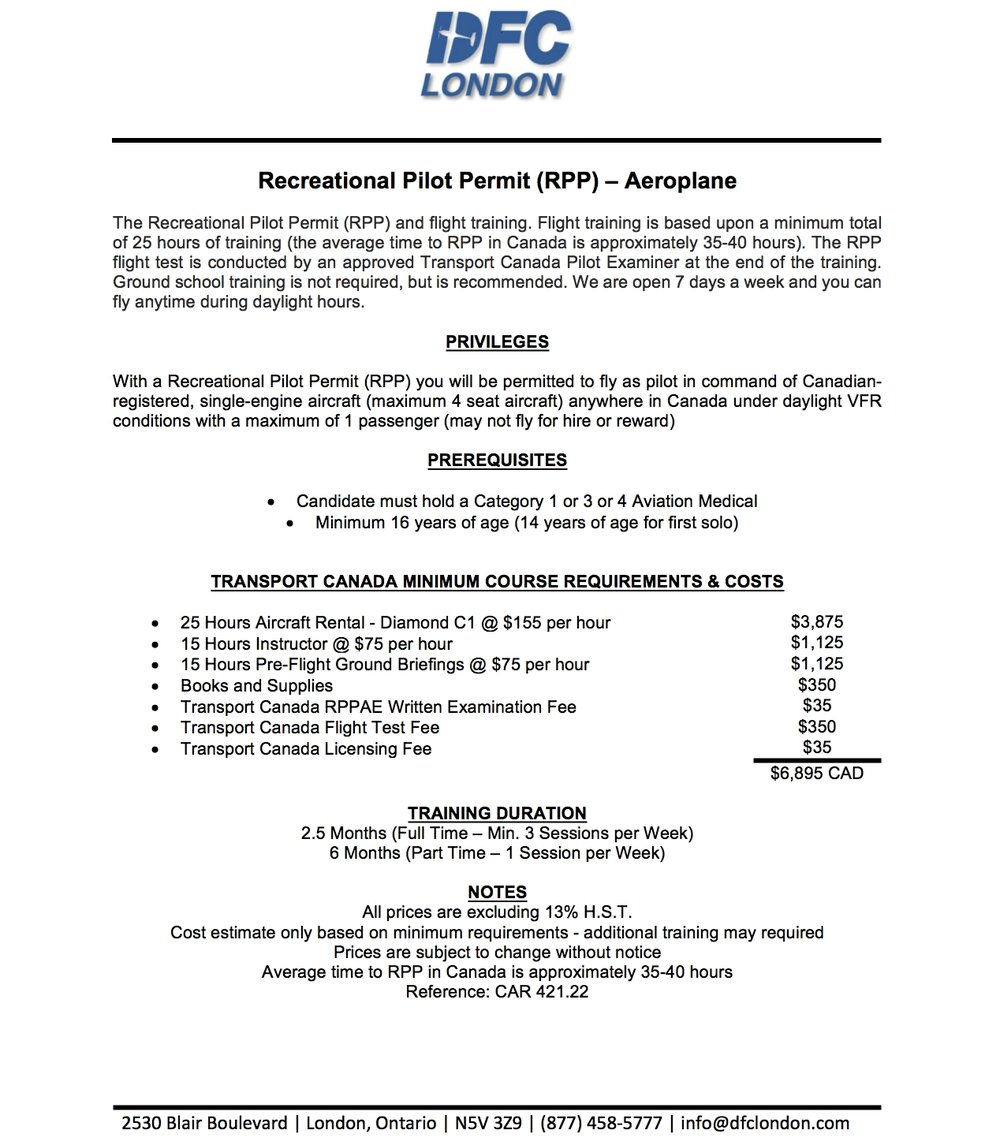 DFC London | Recreational Pilot Permit (RPP).jpg