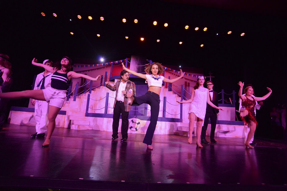 "High School/College Musical: ""Anything Goes"" (2019). Photo by Brian Lipchik Photography"