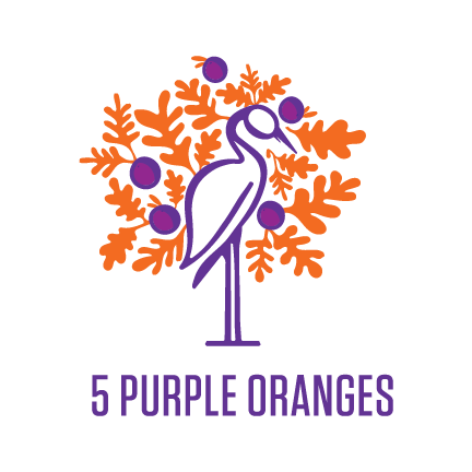 5 Purple Oranges