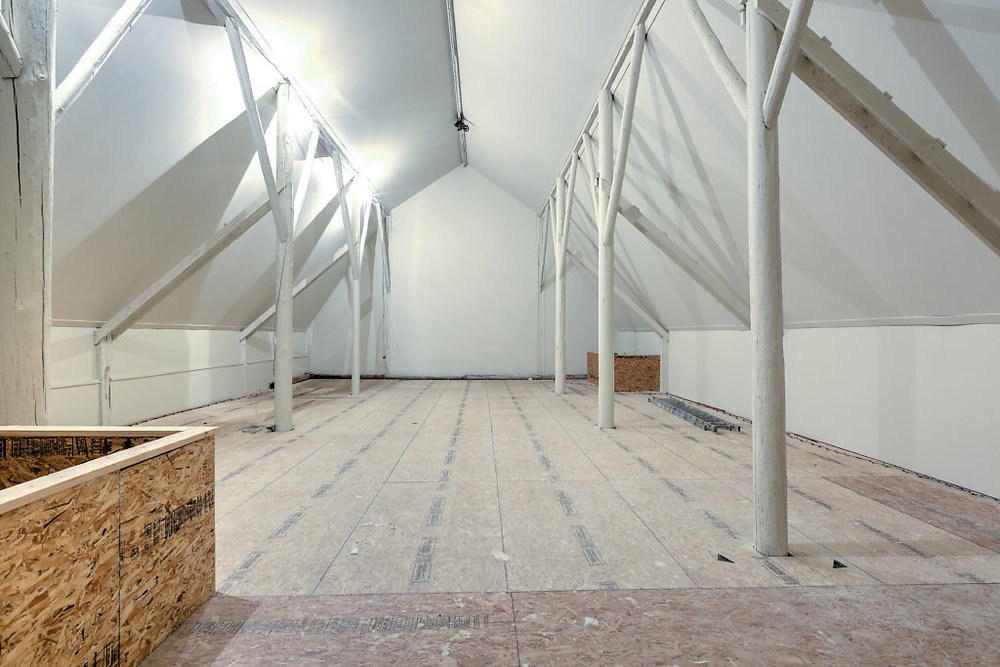 Inside the of barn...an interesting fact? None of the walls are load bearing! You can literally reconfigure the space however you need to for your own purposes...Looking for an event center, or to turn it back into a true barn? You can!...