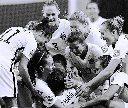 Photo: US Women's National Soccer Team