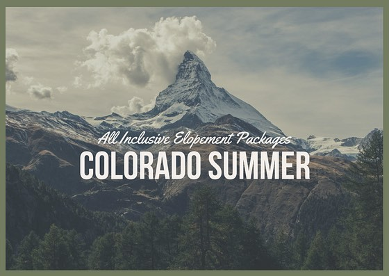 Thinking of a last minute elopement to Colorado?  Contact us for all inclusive elopement packages July 20-21!  @skylight.828 WanderLoveEvents@gmail.com