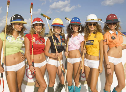 The Hottest Guys' and Girls' Fashions of Miami Beach Polo World Cup -